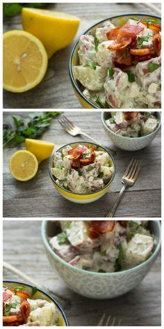 Chicken Bacon Ranch Potato Salad @jlphaneuf