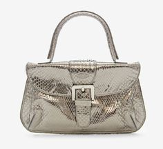 Tod's Silver Handbag