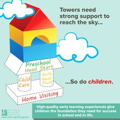 Early childhood education matters infographic great info for high quality early learning experiences give children the foundation they need fandeluxe Gallery