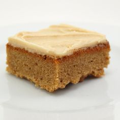 Peanut Butter Cinnamon Blondies with Peanut Butter Frosting | Tasty Kitchen: A Happy Recipe Community!