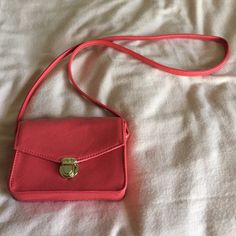 Coral Forever 21 Purse Brand new! Forever 21 Bags Crossbody Bags