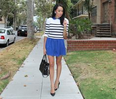 A Keene Sense of Style: Collared Stripes