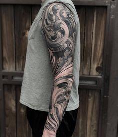 Angel Reynosa - ElectricTattoos Torso Tattoos, Vine Tattoos, Full Arm Tattoos, Cool Forearm Tattoos, Badass Tattoos, Cover Up Tattoos, Body Art Tattoos, Angel Tattoo Designs, Tattoo Sleeve Designs