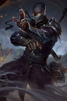 Shen from league of legends