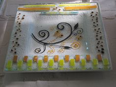My Glass, Glass Art, Fused Glass, Stained Glass, Glass Design, Angeles, Enamels, Recycled Bottles, Trays