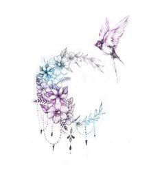 Gallery custom tattoo designs 22 so coole tattoo ideen fr frauen und mnner 2019 pop tattoo cool ideen mnner tattoo ideen woodworkings Moon Tattoo Designs, Flower Tattoo Designs, Flower Tattoos, Compass Tattoo, Arm Tattoo, Sleeve Tattoos, Armband Tattoo, Mandala Tattoo, Mini Tattoos