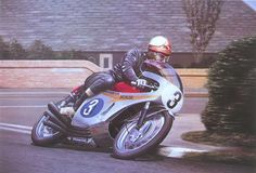 This evocative portrayal of Mike Hailwood at the Isle of Man would make a   wonderful festive gift - although we recommend it for any time of year