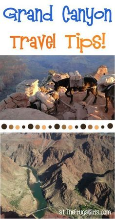 26 Fun Things to See and Do at and around the Grand Canyon! ~ from TheFrugalGirls.com ~ you'll love all these fun travel tips for your next Arizona vacation! #nationalparks #grandcanyon #thefrugalgirls