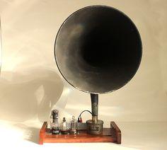 vintage horn speakers - Google Search