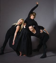 Mia Michaels and her assistants Ryan Ramirez and Chaz Buzan. (Joe Toreno for Dance Spirit)
