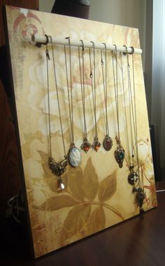 OLD PICTURE & some hooks #jewelrydisplayideas