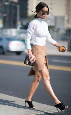 Camila Coelho from Street Style at New York Fashion Week Spring 2017