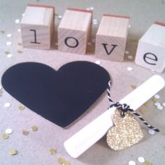 make your own love tags!!
