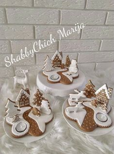 Christmas Biscuits, Christmas Sugar Cookies, Christmas Sweets, Christmas Cooking, Christmas Goodies, Christmas Candy, Gingerbread Cookies, Christmas Time, Christmas Decorations