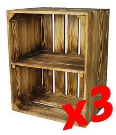 Bookcase, Shelves, Home Decor, Wooden Crates, Shelving, Decoration Home, Room Decor, Bookcases, Shelf