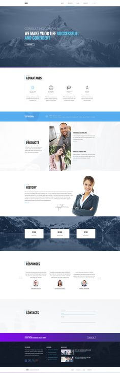 Busis PSD Template ready for your business, use it to make your website more beautiful and informative. Download: http://themeforest.net/item/busis-clean-multipurpose-business-corporate-psd-template/16470434?ref=sinzo