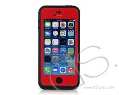 20 ft Waterproof Series iPhone 6 PC Case (4.7 inches) - Red                  http://www.dsstyles.com/product/20-ft-waterproof-series-iphone-6-pc-case-4.7-inches---red