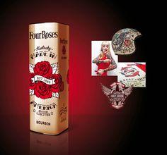 Four Roses #packaging #design I Nicolas Baral
