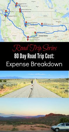 Find out how much it cost to take an 80 day road trip, driving over 10,000 miles through 12 U.S. states, 2 Canadian provinces and visiting 13 national parks.