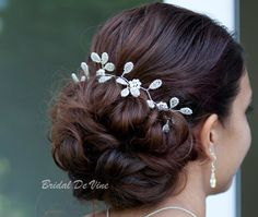 Handmade Bridal Hair Vine Ivory Bride Boho by BridalDeVine, £80.00