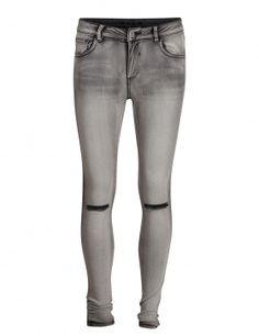 Jeans rodillas rasgadas de Vila Clothes