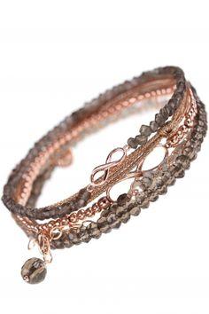 combination infinite autumn infinity armband kombination braun …
