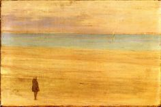 Harmony in Blue and Silver: Trouville James Abbott McNeill Whistler - 1865