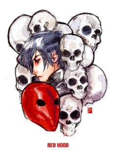 fanart - red death by missveryvery on DeviantArt