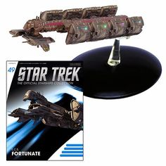 BLOG DOS BRINQUEDOS: Star Trek Starships ECS Fortunate