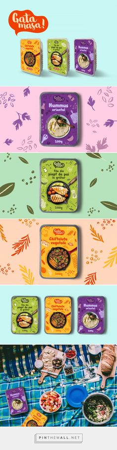 ideas for design food packaging fun Food Branding, Food Packaging Design, Packaging Design Inspiration, Food Inspiration, Texture Photography, Food Photography Styling, Hummus, Design Food, Design Ideas
