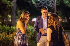 Owner of Visions Event Studio, Jeneé Allan, introduces herself to the newly engaged Kristen! It was such a pleasure helping Matthew make this moment so special for Kristen.