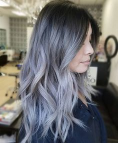 Gray ombré