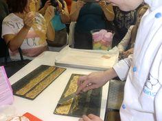 Demonstrações de Rendas de Açúcar Douradas