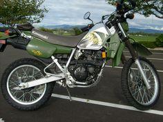 2002 Kawasaki KLR250  - Starter Bike 249 cc