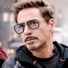 Polarized Iron Man Sunglasses Vintage Photochromic Sun Glasses Shades