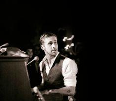 Ryan Gosling, playing piano for Dead Man's Bones. Max Ernst, Ryan Gosling Piano, Celebrity Gallery, Celebrity Crush, Ryan Thomas, Playing Piano, Joseph Gordon Levitt, Raining Men, Hey Girl