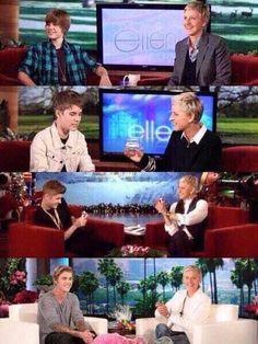 Justin and ellen!