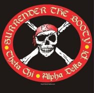Theta Chi-OX and ADPi, a perfect match for a pirate party!