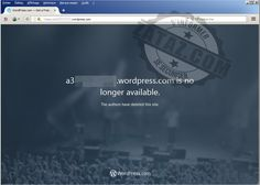 #Wordpress Le site wordpress de l'agence de presse de Daesh fermé  Il en aura fallu des mois et des mois pour, qu'enfin, le site de l'agence de presse de Daesh, A3 ferme ses portes. Le site était installé sur le portail américain WordPress.com. Le site de l'agence de presse de Daesh enfin fermé ? Je m'étonnais sur ... WordPress Design - http://www.larymdesign.com http://www.zataz.com/enfin-site-wordpress-com-de-daesh-ferme/