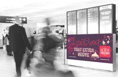 Sydney Airport Christmas Campaign | www.tinyhunter.com.au