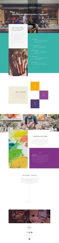 Idea - Web Design #WebDesign #Inspiration #WebSite #UX #FrontEnd Web Design, Website, Inspiration, Product Development, Biblical Inspiration, Design Web, Website Designs, Inspirational, Site Design