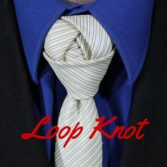 How To Tie a Tie - Loop Knot. Video Tutorial. 100 Ways to Tie a Tie