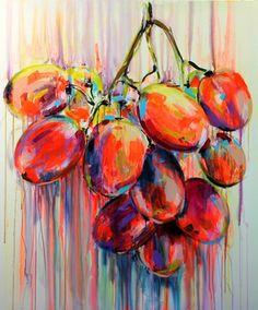 "Saatchi Online Artist Yuliya Vladkovska; Painting, ""juicy"" #art"
