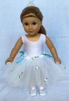 American Girl Doll Ballet Costume Tutus Complete von DancerNYC14