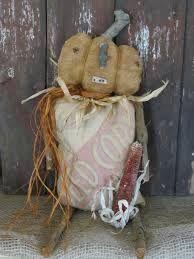 primitive pumpkin doll - Cerca con Google