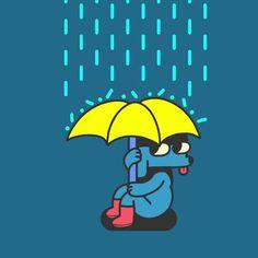 New trending on Giphy Weather Gif, Rainy Weather, Weather Umbrella, Rain Gif, Jason Clarke, Water Pictures, Tweety, Dogs, Pinterest Board