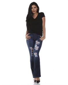 Skinny Rippy Jeans