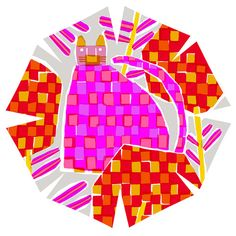 鈴木マサル - Google 検索 Textiles, Umbrellas, Illustration, Artworks, Fabric, Image, Color, Google, Design
