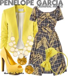 Penelope Garcia Clothes   Inspired by Kristen Vangsness as Penelope Garcia on ...   Cute Clothes
