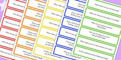 Use these guided Circle Time question cards for lively discussions with your class and help them to improve their communication skills. Questions To Ask, This Or That Questions, Teaching Techniques, Circle Time, Communication Skills, The 100, Ideas, Teaching Strategies, Teaching Methods